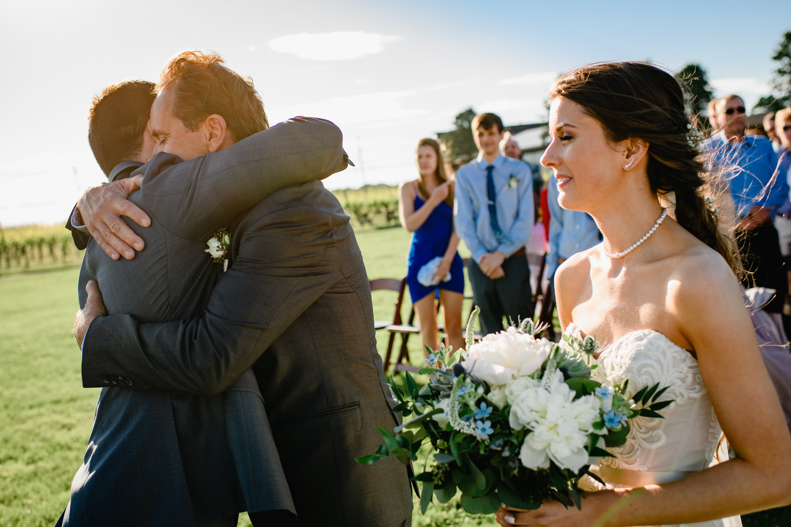 emotional wedding photographer newport boston ri